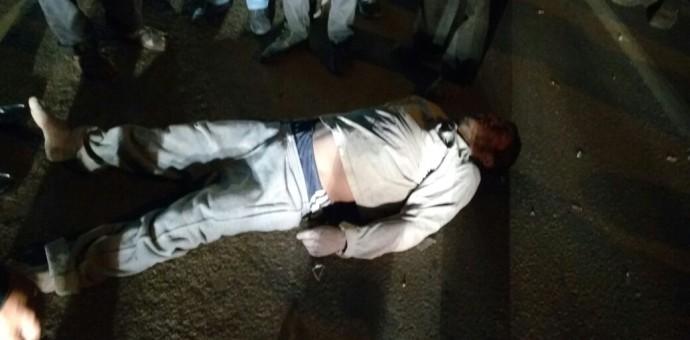 Ciudadano resulta gravemente herido tras ser arrollado por vehículo en Huacarpay
