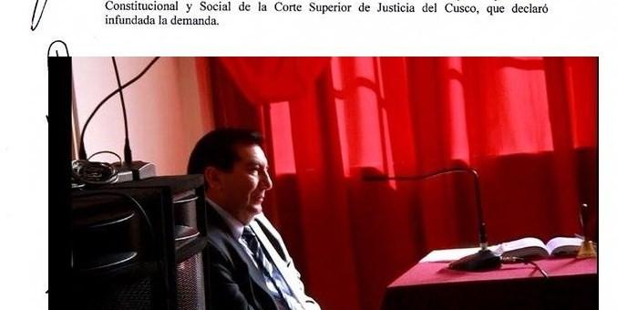 Tribunal Constitucional sentencia a El Diario del Cusco y le emplaza a respetar derecho de rectificación