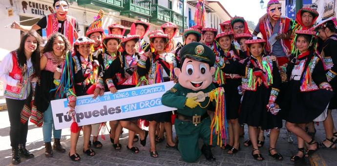 """Lanzan campaña """"Yo celebro sin alcohol"""" para evitar excesos en las fiestas del Cusco"""