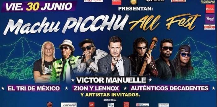 Escandaloso concierto de MachuPicchu All Fest terminó maltratando al público y a William Luna