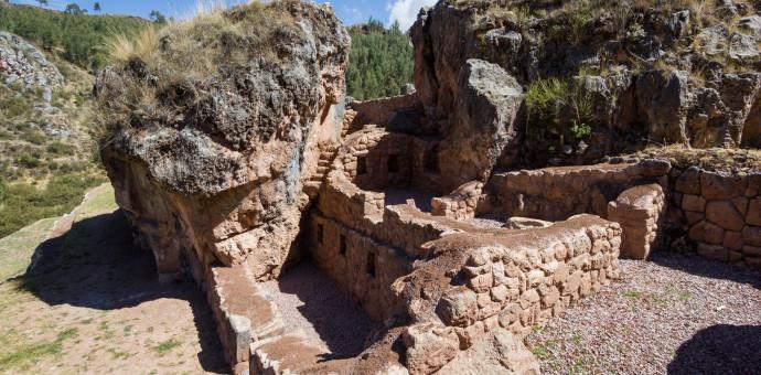 Dirección de Cultura restauró extraordinario sitio arqueológico de Inkilltambo