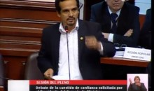Congresista Humberto Morales responsabilizó de la crisis en el país al Modelo neoliberal