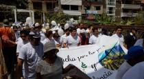 Contundente marcha por la paz y contra la violencia en Machu Picchu