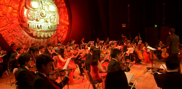 Orquesta sinfónica ofrecerá concierto de gala este 22 de setiembre