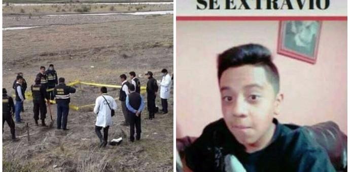 Familiares de Sebastián André califican de ineficiente la labor de la Policía Nacional