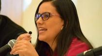 """Verónika Mendoza: """"La gran lección de la historia es que el terror no se puede vencer con más terror"""""""