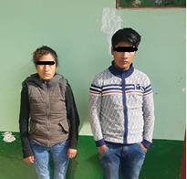 Capturan a dos peligrosos sujetos tras asaltar y robar a un taxista cusqueño