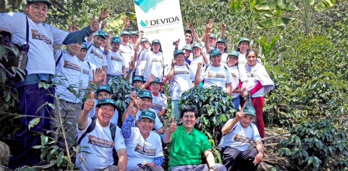 Devida fortalece capacidades de productores de café en la provincia de La Convención