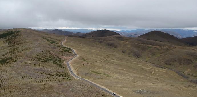 Inauguran asfalto económico que une a los distritos de Huancarani y Ccatca