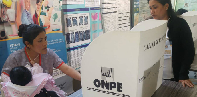 Más de 7 millones de jóvenes sufragarán en elecciones regionales y municipales de octubre