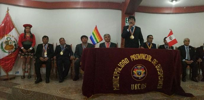 Alcalde de Quispicanchi exige mayor presencia policial en la vía Interoceánica