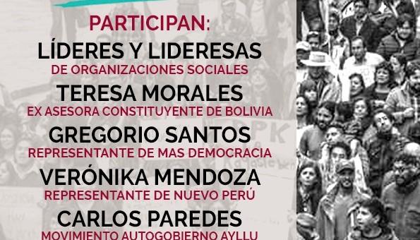 Cusco será sede de un encuentro de organizaciones y líderes de izquierda por una nueva Constitución
