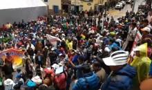 Pueblo de Santiago en la calles por falta de obras de la Municipalidad Distrital