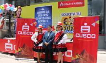 Caja Cusco realizó activación de su campaña escolar 2018 con una caravana promocional