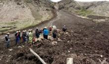 Tragedia por deslizamientos en Huamanripa distrito de Santo Tomás