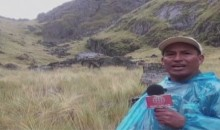 Dante Aguilar era un periodista de campo y de sol, de polvo y de lluvia