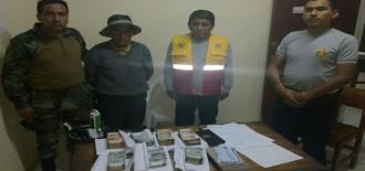 Intervienen a ciudadano de 77 años con más de 53 mil Soles cuando viajaba a Huaypetue