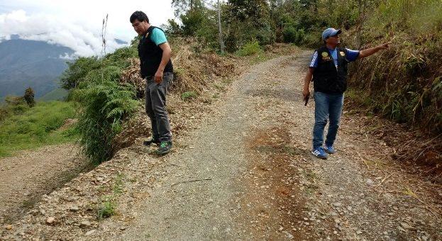 Encuentran material explosivo de procedencia ilegal en el distrito de Quellouno