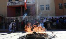 Canchis marchó contra los actos de corrupción generados en el CNM, Congreso y Poder Judicial
