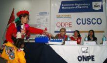ODPE Cusco realizó el sorteo de miembros de mesa para elecciones de octubre