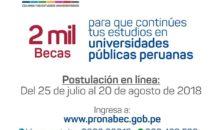 Estudiantes de la UNSAAC pueden postular a 2 mil becas hasta el 20 de agosto