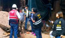 Encuentran a 8 menores laborando en ladrillera de Cusco durante operativo de fiscalización