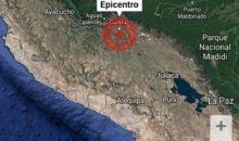 Sismo de 3.4 grados de magnitud soportó la región del Cusco
