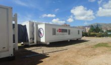 Hospital móvil para atender a pacientes con coronavirus en Cusco