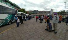 Turistas nacionales fueron trasladados a Lima en vuelo humanitario