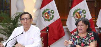 Presidente Vizcarra anunció disposición que permite a hombres y mujeres salir intercaladamente