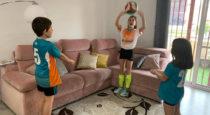 Recomiendan a las familias realizar actividad física  dentro de las viviviendas