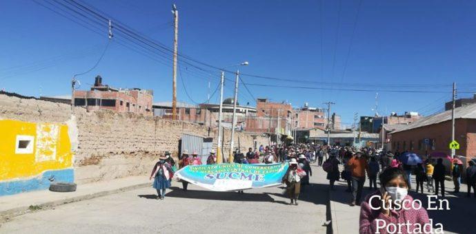 Consejo Regional del Cusco rechaza actuación de empresa Minera Antapacay