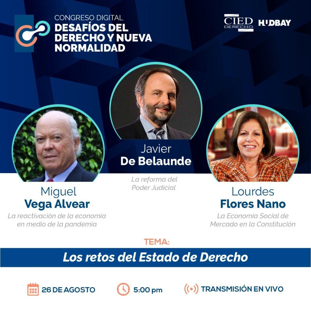 2. Congreso Digital - Desafios de Derecho y Nueva Normalidad - Dia 1