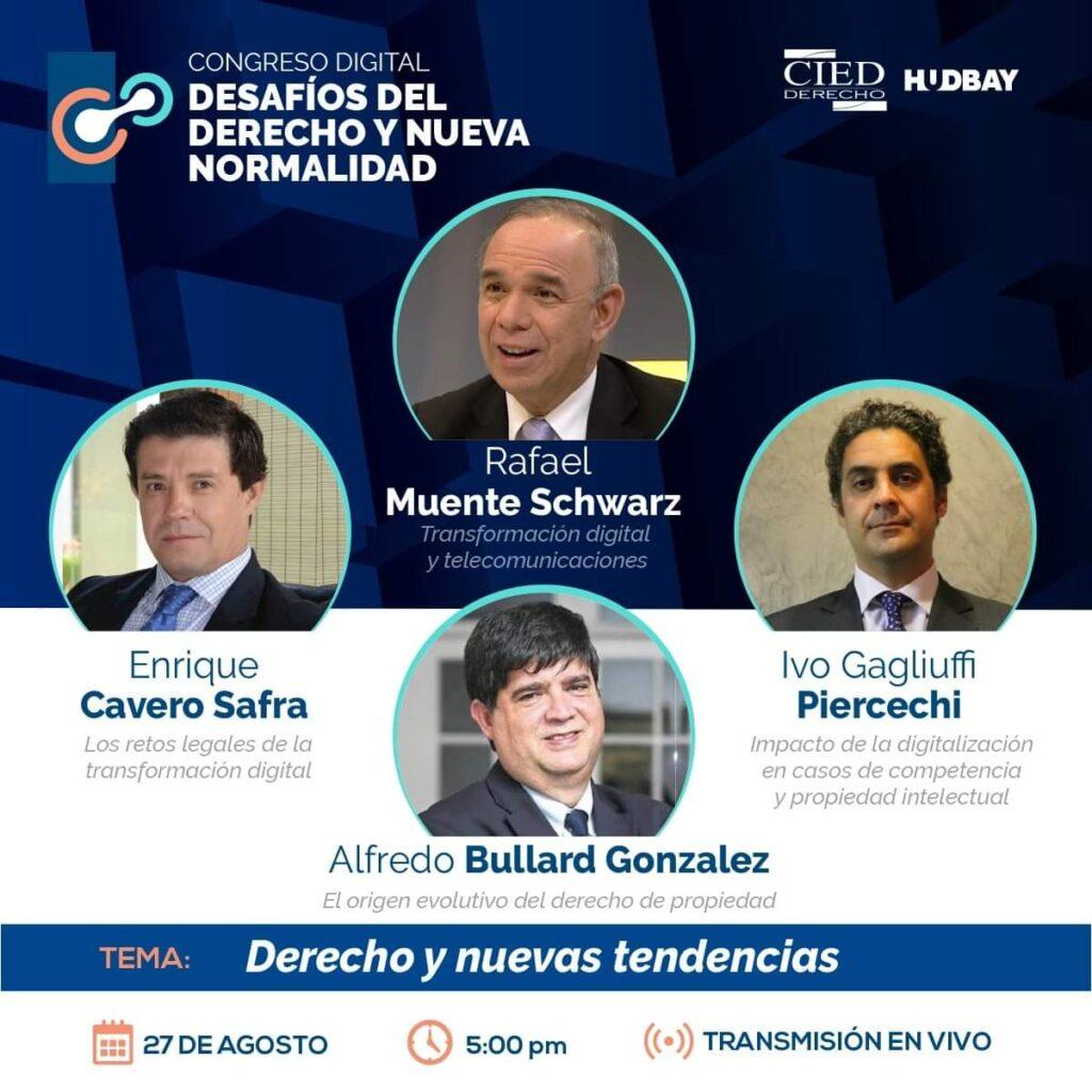 3. Congreso Digital - Desafios de Derecho y Nueva Normalidad - Dia 2