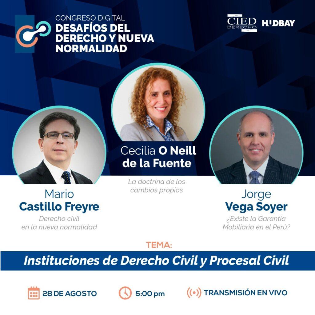 4. Congreso Digital - Desafios de Derecho y Nueva Normalidad - Dia 3