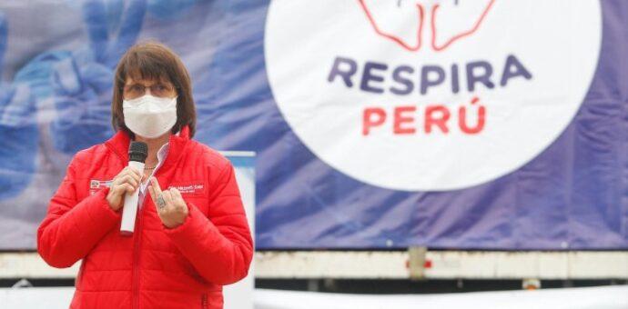 Ministerio de Salud implementará 65 plantas de oxígeno medicinal a nivel nacional