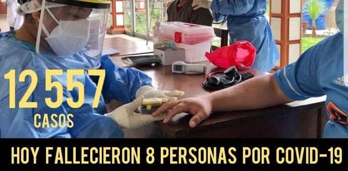 Cusco supera los 300 fallecidos y más de 12 mil contagiados por la pandemia del Coronavirus