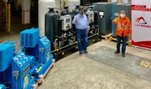 Planta de Oxígeno para Apurímac donada por Las Bambas llegó al Perú