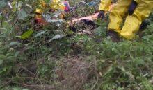 Rescatan en Kosñipata a persona que se encontraba desaparecida desde el 20 de Julio