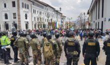 Cusco rechaza golpe del Congreso y se declara en permanente acción de protesta