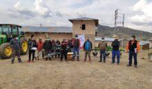 Las Bambas entregó equipos para complementar el trabajo del tractor agrícola en Pumamarca