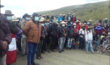 Hudbay reitera su predisposición a restablecer el diálogo este 22 de enero en Chumbivilcas