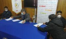 Firman convenio para entregar al pueblo de Velille nueva ambulancia tipo II