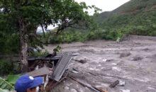 Confirman la desaparición de dos personas en huayco en Pan de Azúcar y Cocabambilla
