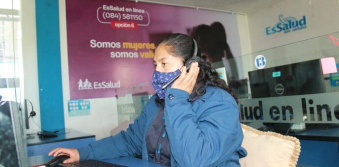 EsSalud Cusco implementa Servicio de Teleinformes para familiares de pacientes con Covid-19