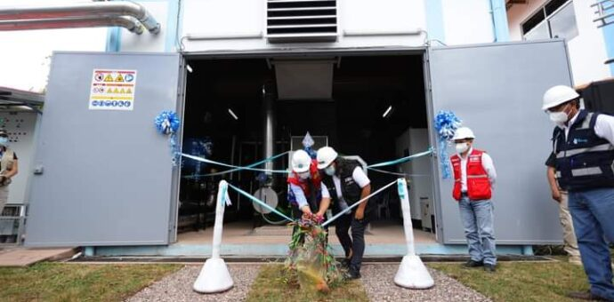 SEDACUSCO pone en funcionamiento e inaugura el primer cogenerador de energía eléctrica y térmica en el distrito de San Jerónimo