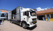 llegó a Cusco planta de oxígeno medicinal que se instalará en el Hospital Regional