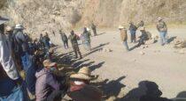 Dirigentes de Chumbivilcas anuncian que proseguirán con la huelga contra Las Bambas