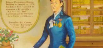 Colegio de abogados del Cusco concretó incorporación póstuma de Trinidad Enríquez