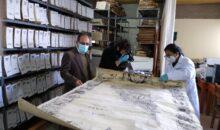 Mapa histórico del Perú de 1862 será restaurado a iniciativa del Archivo Regional